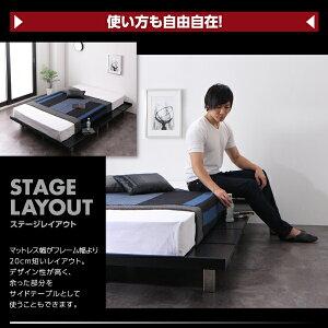 【ポイント10倍】すのこベッドシングル【フレームのみ】フレームカラー:ウォルナットブラウン頑丈デザインすのこベッドT-BOARDティーボード