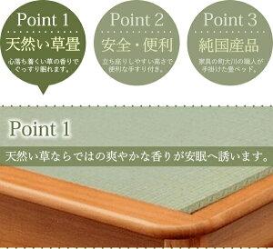 【ポイント10倍】【付属品】Noah2畳ベッド用介助バー付手すり色:ブラウン【日本製】【】