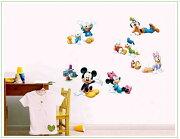 ミッキーニミー ピクニック ドナルド ディズニーウォールステッカー ポスター キャラクター 子供部屋