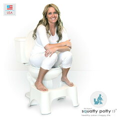 便秘/Squatty Potty スクワティポティー/洋式トイレ用足置き台/全米ナンバーワン1…
