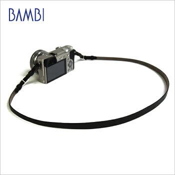 BAMBIバンビカメラストラップカメラ用ネックストラップGUIDI革【NSG-Z16A】【CP+2018出品商品】【送料無料】