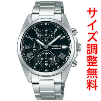 AGAT404セイコーワイアードSEIKOWIRED腕時計メンズペアスタイルPAIRSTYLEクロノグラフAGAT404