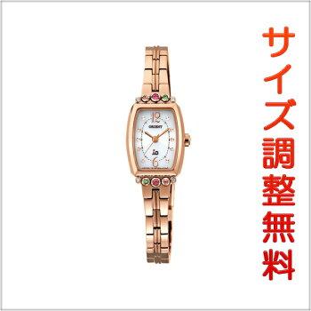 オリエントイオORIENTiOソーラー腕時計レディースブーケWI0381WD