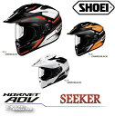 ☆【SHOEI】正規品 HORNET ADV SEEKER ホーネットADV   オフロード ヘルメット 公道走行可 【バイク用品】