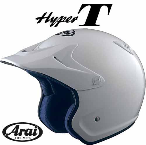 ARAI  HYPER-TホワイトトライアルヘルメットオフロードハイパーティーハイパーTアライアライヘルメットジェットヘルメ