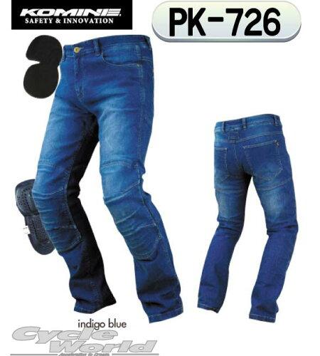 ☆コミネ PK-726 フルイヤーケブラーデニムジーンズ Full Year Kevlar D-Jeansメンズ ...