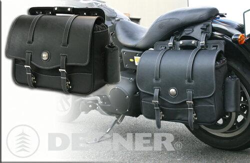 ☆ DEGNER デグナー NB-10 ナイロンサドルバッグ カラー ブラック