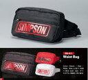 SIMPSON シンプソンWaist Bag ウエストバッグ