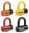 KRIPTONITE:クリプトナイト ディスクロック EV4ディスクロック サイズ:4.5cm×5.0cmカラー:イエロー 【バイク用品】