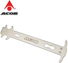 チェーンの伸びを測定し、交換時期を判断するための工具【ACOR】ATL-2803 チェーンチェッカー【...