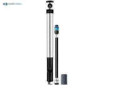 【CRANKBROTHERS】(クランクブラザーズ)KLIC HP(クリックHP) CO2アダプター付 携帯ポンプ(自転車) 2006389200015