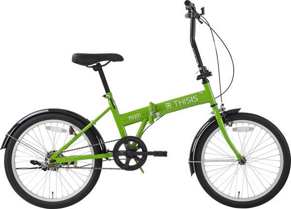 【店舗受け取りで送料無料】サイクルスポットTHISISFD201〔FD201〕折り畳み自転車