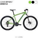 セール ルイガノ MTB マウンテンバイク スポーツ自転車 グラインド9.0 LOUIS GARNEAU 24段変速