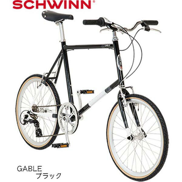 SCHWINN(シュウイン) GABLE〔19 GABLE〕ミニベロ