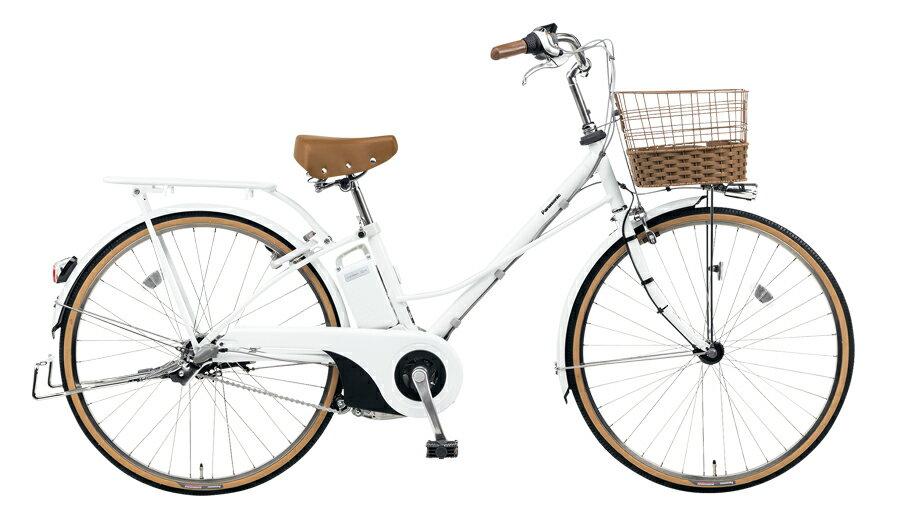 電動自転車 パナソニック Panasonic ティモ・F KE-ELTF63 F 26インチ ホワイト 白 電動アシスト自転車 格安 激安 電動自転車 電動アシスト自転車 電動ママチャリBAA おおきなおしゃれかご 通学:自転車Lab