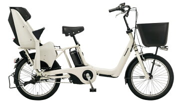 電動自転車 パナソニック Panasonic ギュット アニーズ KE 20インチ 電動アシスト自転車 2018年モデル 激安 格安 BE-ELKE03F ホワイトグレー おしゃれ
