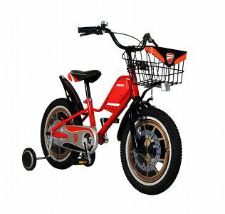 ドゥカティ子供用自転車18インチ最適身長108~123cm送料無料子供自転車レッド赤DUCATINEWKID