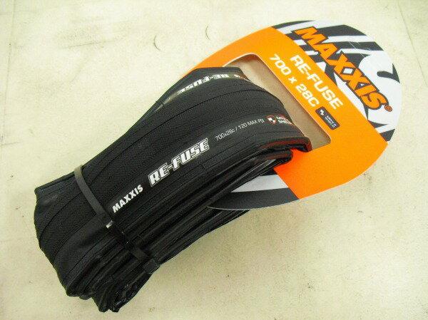 タイヤ 700C マキシス 【数量限定】クリンチャータイヤ REFUSE 700*28c ※誤表記によるアウトレット品  新品