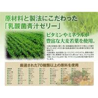 """乳酸菌青汁ゼリー(お得な3個セット)""""70種類以上の原料を厳選!ビタミン、ミネラル豊富な若葉を使用"""