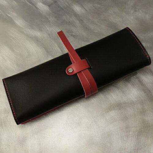 cyproductペンケースH3S黒/レッド