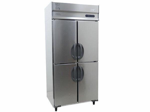 2014年製 フクシマ 業務用冷蔵庫/4面縦型冷蔵庫 URN-090RM6-F(冷蔵 612L)【中古】:厨房販売王