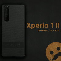 FINONスマホケースXperia1II(SO-51A/SOG01)/Xperia5II(SO-52A/SOG02)/GooglePixel4a(5G)/GooglePixel5【デザインコットンモデル】[ケース素材:PC/TPU/コットン/レザー]シンプル指紋防止薄型軽量耐衝撃ハイブリッドケース