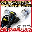 H8 HIDバルブ単品2本バーナー単品交換用バルブ35wフォグランプヘッドライト外装パーツキセノンHIDバルブHIDシステムドレスアップglafitあす楽カーアクセサリー