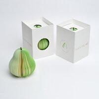 KUDAMEMO クダメモ ヨウナシ メモ帳 本物の果物のようなメモ帳/D-BROS
