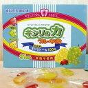 キシリトール100%使用!おやつを食べて虫歯予防!キシリの力 フルーツグミ 1箱(31粒) ☆398...