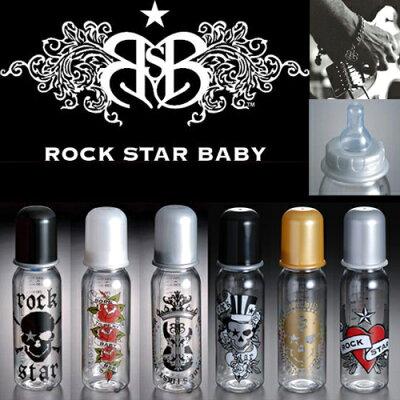 RockStarBaby/ロックスターベイビーほ乳ビンLサイズ(BonJoviプロデュースのロックンベイビーグッズ!!)