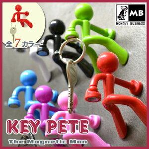 MONKEY BUSINESS Key Pete モンキービジネス キーピートシュールな姿の働き者!カギを便利にまと...