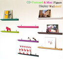 CD・Postcard & Mini Figure Display Wall shelf /CD・ポストカード&ミニフィギュア ディスプレイ シェルフ 【あす楽対応】 売れ筋