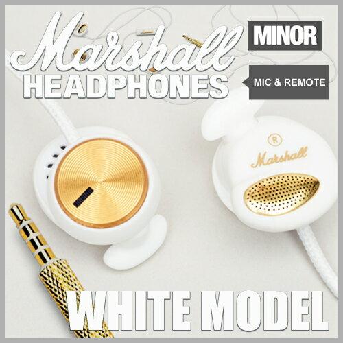 Marshall Headphone MINOR WHITE / マーシャル ヘッドフォン マイナー ...