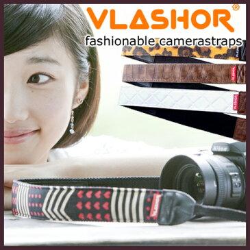 【カメラストラップ 送料無料】 VLASHOR CAMERA STRAP / フラッシャー カメラストラップ [一眼レフカメラ カメラストラップ 女子 おしゃれ かわいい カメラアクセサリー] 【あす楽対応】 売れ筋