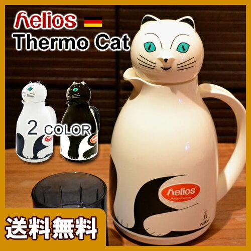 ヘリオス サーモキャット / Helios Thermo Cat [ネコ 猫 魔法瓶 ポット ...