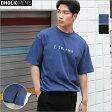 [ ]BLANKショートスリーブTシャツ・全3色・n50376 メンズ 【tops】【トップス 半袖 カジュアル ロゴ アビス】