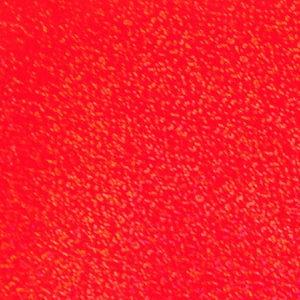 ホログラムシート スパークル(蛍光レッド)【ホログラムシール】