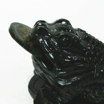 大理石カエル(台座付き)