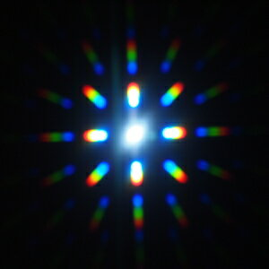 光の万華鏡光拡散フィルム