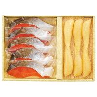 お歳暮 ギフト ◆塩かずのこ・紅鮭切身詰合せ-BX50[W]seibo【RCP】_K201010101062