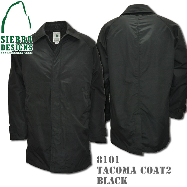 SIERRA DESIGNS シエラデザインズ TACOMA COAT II タコマコート2 8101 Black