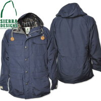 SIERRADESIGNS(シエラデザインズ)PENDLETONLINEDMOUNTAINPARKAMIDNIGHT7922
