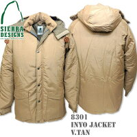 SIERRADESIGNS(シエラデザインズ)INYOJACKETV.TAN8301