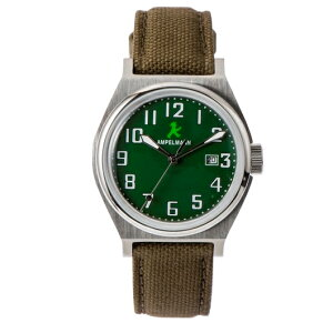 ASC-4979-12腕時計AMPELMANNアンペルマンクォーツラウンドASC497912グリーン