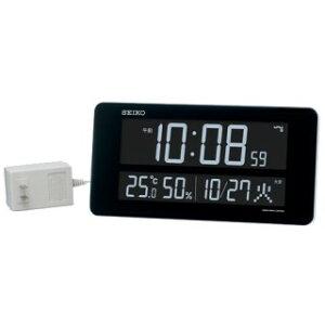 DL208W交流式掛置兼用時計SEIKOセイコー掛置兼用時計掛置き兼用時計電波置き時計電波置時計卓上時計卓上電波時計電波掛け時計電波掛時計電波壁掛時計壁掛け電波時計電波壁掛け時計