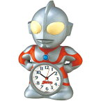 JF336A ウルトラマン 目覚まし時計 セイコー SEIKO 置時計 セイコー置き時計 めざまし時計 目ざまし時計 目覚し時計【送料無料(北海道沖縄750円別途加算)】