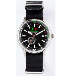 【お取り寄せ】AMT-4975-05腕時計AMPELMANNアンペルマンオートマラウンドブラックAMT497505【送料無料(北海道1000円沖縄2000円別途加算)】