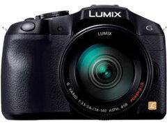 Panasonic / パナソニック ミラーレス一眼カメラ LUMIX DMC-G6H-K 標準ズームレンズキット [ブ...