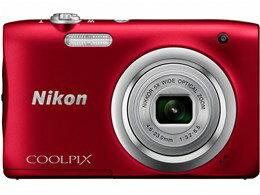 ◎◆ ニコン COOLPIX A100 [レッド] 【デジタルカメラ】