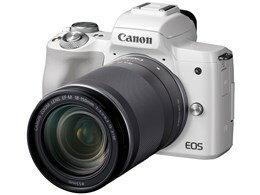 ◎◆ CANON EOS Kiss M EF-M18-150 IS STM レンズキット [ホワイト] 【デジタル一眼カメラ】